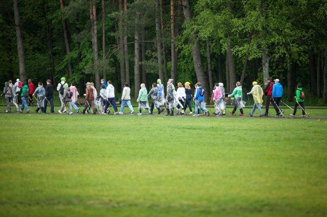 Šiaurietiškas ėjimas - emocinės sveikatos stiprinimo būdas