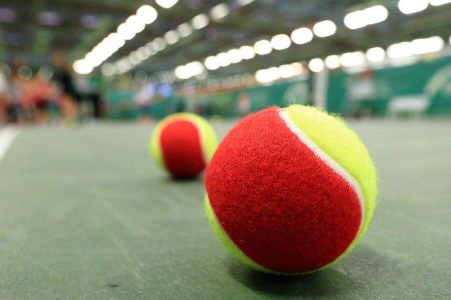 Spalvoti kamuoliukai palengvina treniruotes.