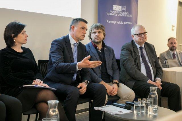 Vilniaus sav. ir VGTU atstovai diskutavo apie susisiekimo iššūkius