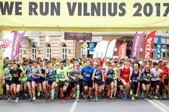Startavo registracija į tradicinį bėgimą