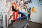 Maratonininkė pataria nedelsti pajutus skausmą