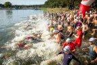 Kauno triatlonas - net nemokantiems plaukti
