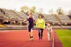 Į nemokamas treniruotes – visa šeima