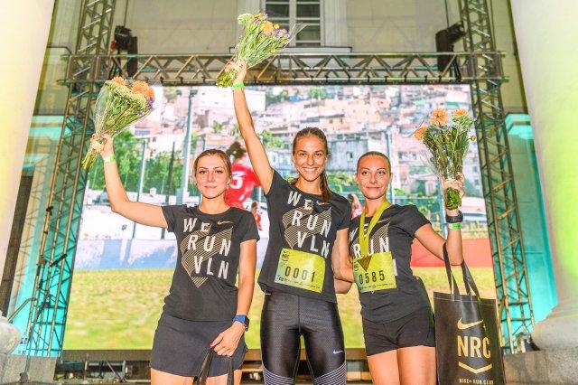 """Naktinis """"Nike"""" moterų bėgimas"""