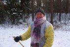"""""""Snaigės"""" žygyje Aukštagirio miške dalyvavo 741 slidininkas ir 65 pėstieji."""