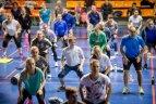 """Nemokamose """"Judėk sveikai"""" treniruotėse nuolat sportuoja per 1000 kauniečių"""