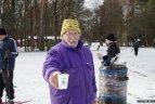 """Į """"Snaigės"""" žygį Vilniaus """"Vingio"""" parke susirinko daugiau nei 500 dalyvių."""