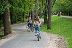 Atnaujinti dviračių takai.