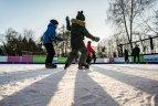 Vilniuje – dvigubai daugiau čiuožyklų nei pernai