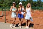 """Klaipėdoje vyko jau šeštasis projekto ,,T&M Akademija"""" mėgėjų teniso turnyras."""