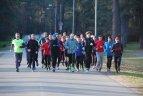 """Įvyko pirmosios nemokamos """"F.O.C.U.S. running"""" bėgimo treniruotės"""