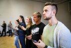 "Lietuvos sporto universiteto studentai susipažįsta su išmaniąja  platforma ""Stats4sport""."