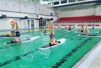 R. Vyšniauskaitė ir I. Barkauskas ryžosi irklenčių sporto iššūkiui