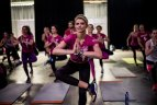 Jolanta Leonavičiūtė liejo prakaitą treniruotėje