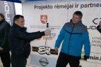 """Projektas """"Judėjimas - sveikatos šaltinis"""" Plungėje"""