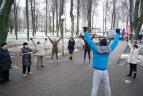 """Aktyvaus sveikatinimo ir sporto projekto """"Judėjimas - sveikatos šaltinis"""" renginys"""