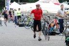 150 aktyvaus laisvalaikio mėgėjų susirinko į pirmą kartą Kaune organizuojamą triatloną