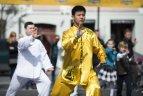 LUF sukvietė kovos menų ir sveikatingumo entuziastus naujam rekordui siekti