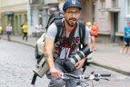 Fotografas V. Dranginis įamžindamas bėgimo renginį įveikia ir virš 30 km
